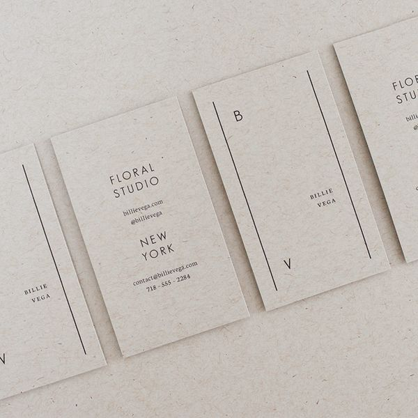 billie business card templates | hands-on!