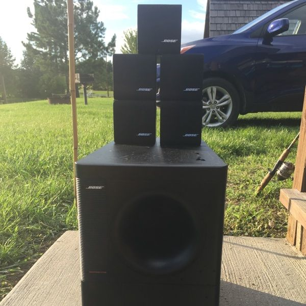 bose 415859. for sale: bose speakers/surround sound $100 415859
