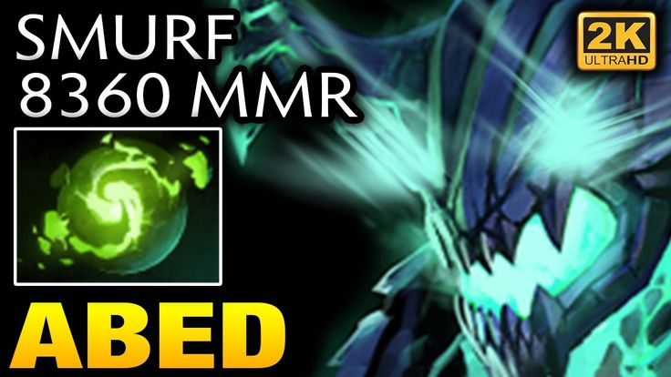 Abed Smurf account mmr is 8360 Already  [Outworld Devourer] Dota 2