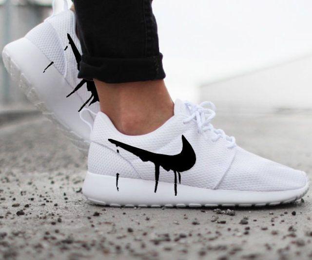 Drip Swoosh Nike Roshe Sneakers - http://tiwib.co/drip-swoosh-nike-roshe-sneakers/ #Shoes, #Wearables