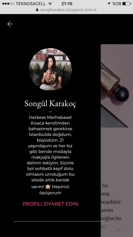 Blog ; https://songlkarakoc.blogspot.com.tr/?m=1