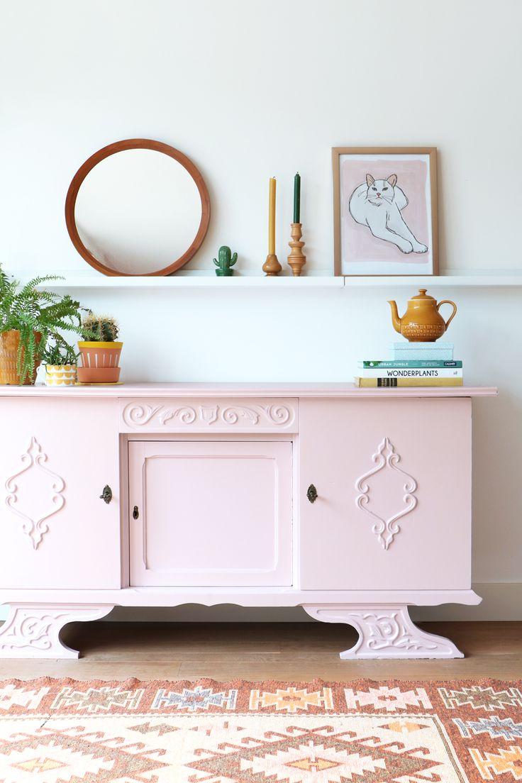 MY ATTIC SHOP / vintage dresser / pink / pastel    Photography: Marij Hessel  www.entermyattic.com