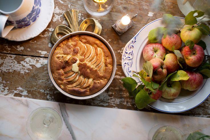 Äppelkaka med citron och mandelmassa | Elsa Billgrens blogg på ELLE.se!