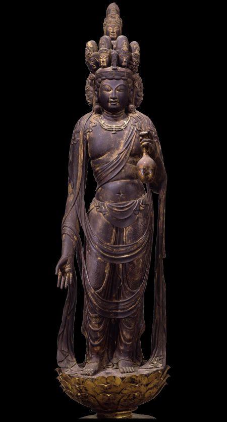National Treasure of Japan 国宝 十一面観音菩薩立像