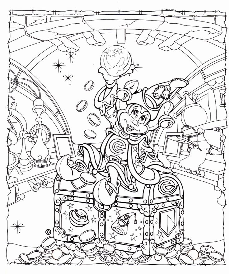 Disney coloring book for adults new free printables
