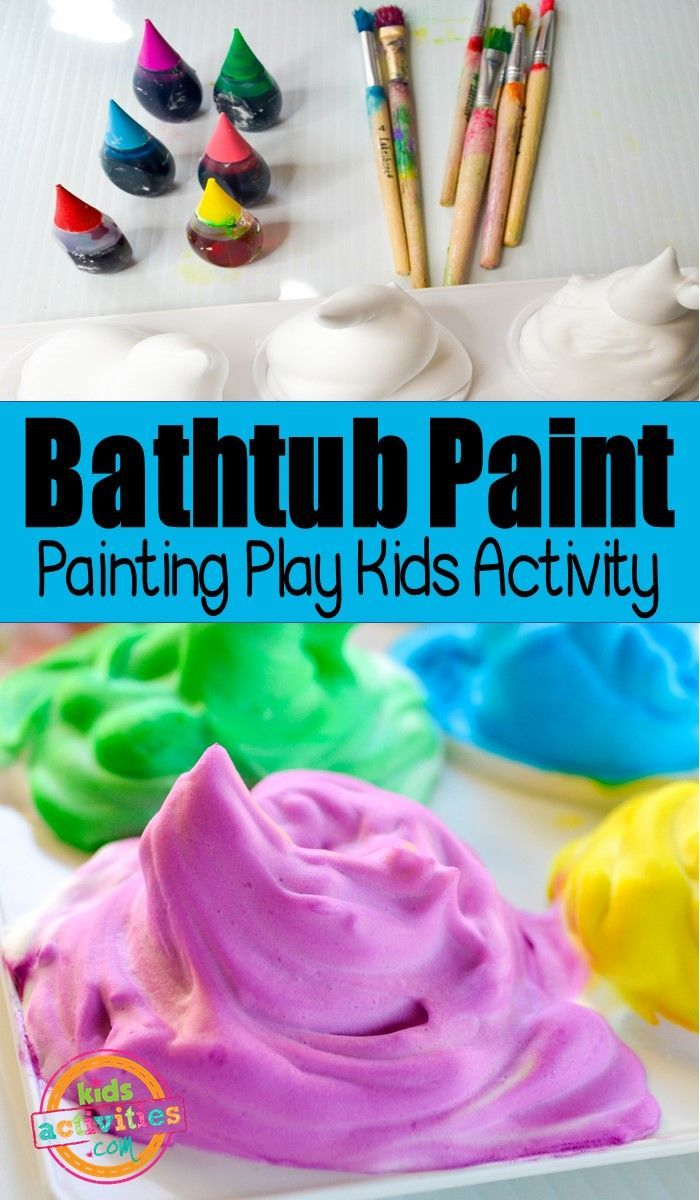 Painting Play In The Bathtub Crafty 2 The Core Diy Galore