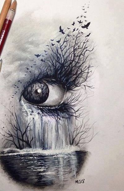 Best 25 drawings of eyes ideas on pinterest cool pencil for Unique sketches