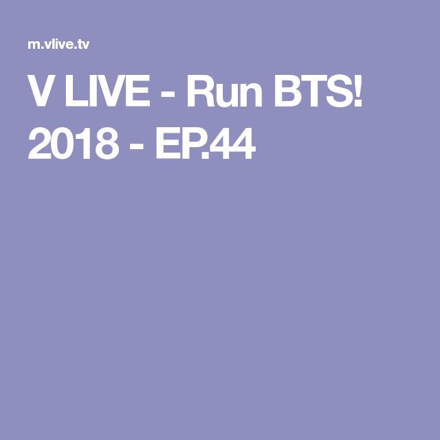 V LIVE - Run BTS! 2018 - EP.44