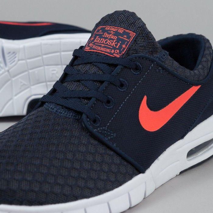 Nike Sb Janoski Max Blue Black