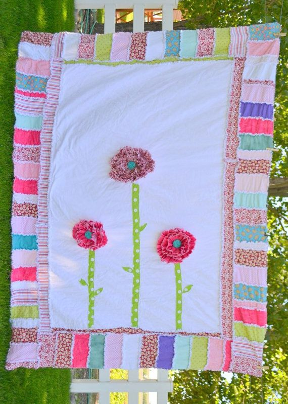 Rag Quilt Patterns For Twin Bed : 59 best Rag quilt baby images on Pinterest Baby quilts, Bedding and Carpets