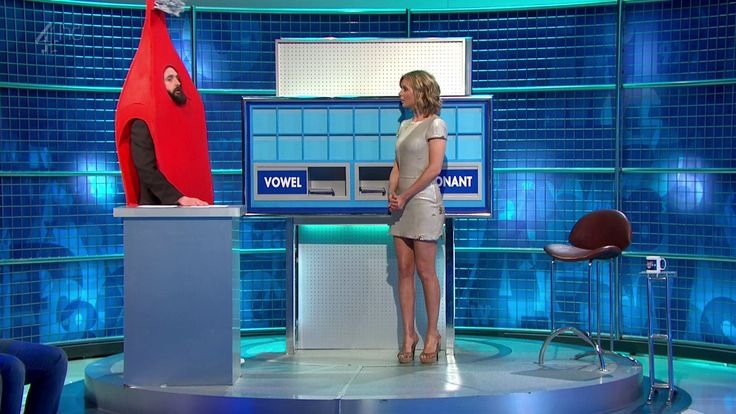 Rachel Riley – 8 Out of 10 Cats does Countdown 30.07.14