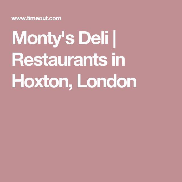 Monty's Deli   Restaurants in Hoxton, London