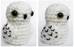 Tiny Amigurumi Hedwig