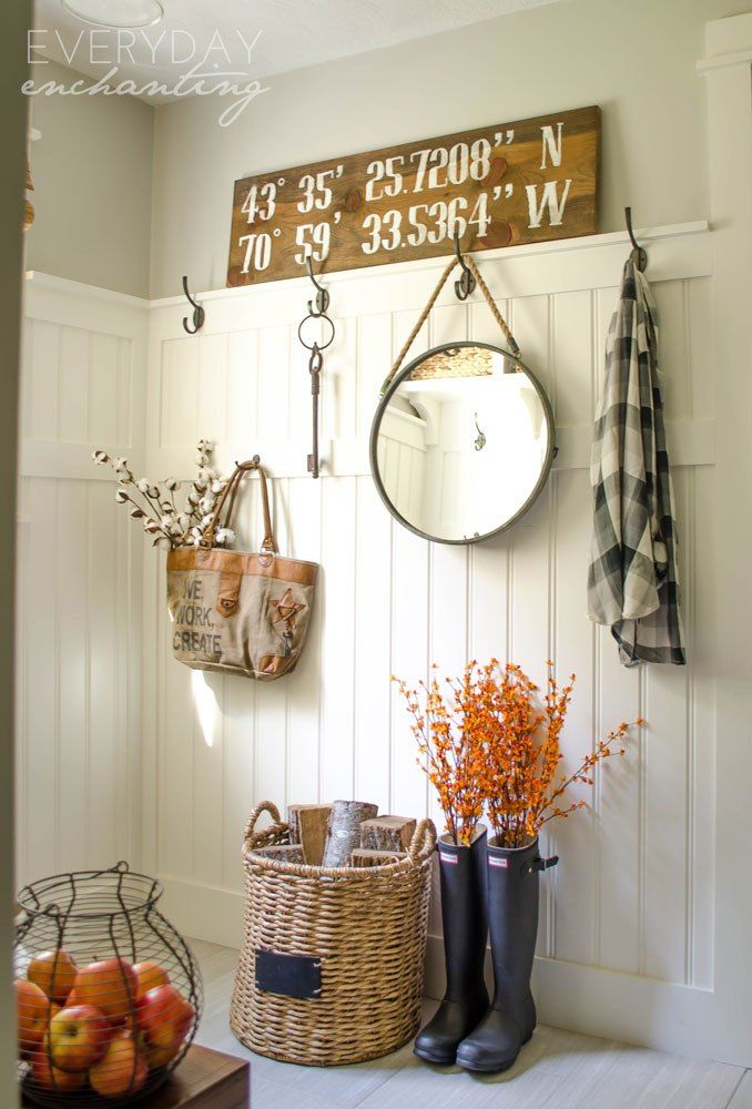 Natural & Simple Fall Home Tour | Natural & simple autumn decor inspiration