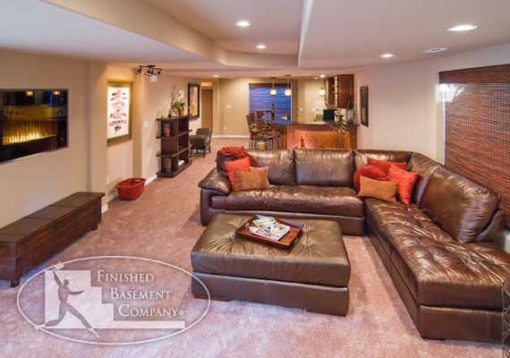 33 best images about basement room ideas on pinterest - Basement family room ideas ...