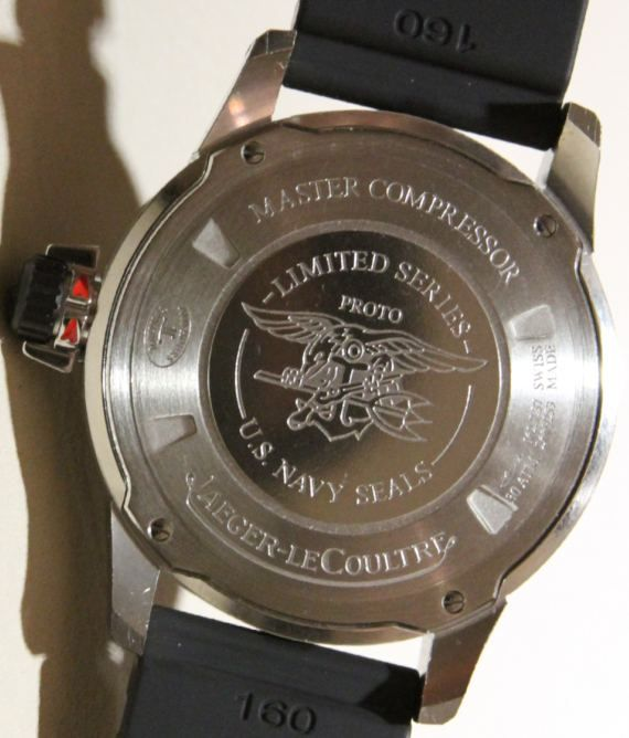 Jaeger-LeCoultre Master Compressor Diving Automatic Navy SEALs Watch