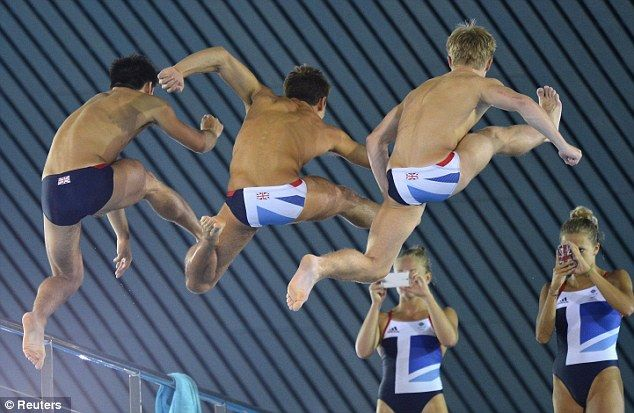 Olympic 2012 diving photo with #Tom Daket