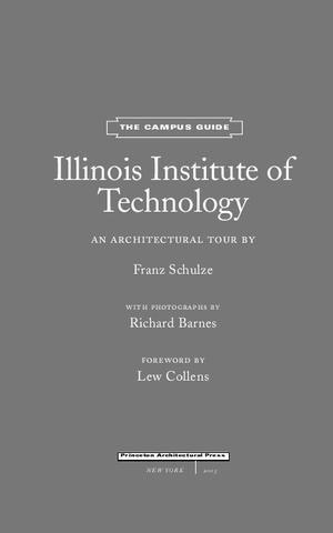 Illinois Institute of Technology; The Campus Guide