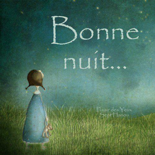 Bonne nuit image #5322 - Bonne nuit Tags: Ciel Etoile, Fillette, Illustration, Nuit. Partager cette photo sur Facebook, Twitter et WhatsApp.