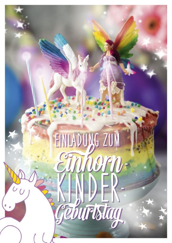 10 best einhorn kindergeburtstag unicorn birthday images on pinterest rainbow unicorn. Black Bedroom Furniture Sets. Home Design Ideas
