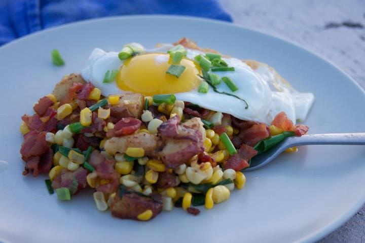 SYM Bacon & Corn Hash | Slap Ya Mama Challenge | Pinterest