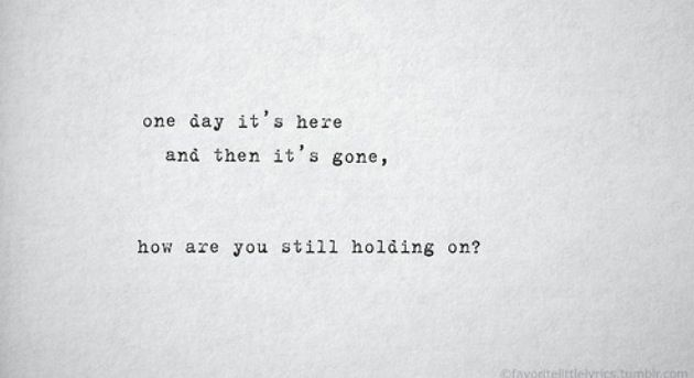 One Day by Kodaline #lyrics