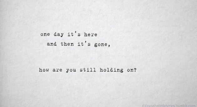 One Day by Kodaline #lyrics