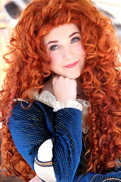 i am merida, and i'll be shootin' for my own hand♡
