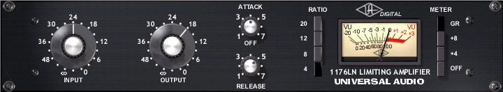 UAD 1176LN Classic Limiting Amplifier Plug-in