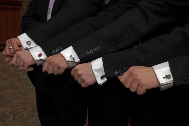 Cufflinks are designer accessories worn by men for tying cuffs on a shirt or formal attire