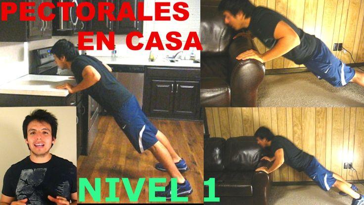 Entrenamiento Para Pectorales En Casa - NIVEL 1 - http://dietasparabajardepesos.com/blog/entrenamiento-para-pectorales-en-casa-nivel-1/