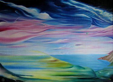 Saatchi Online Artist Alexandr Mikushev; Painting, meeting #art