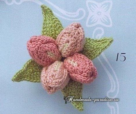 475 best Häkeln - Blumen .... images on Pinterest | Blumen häkeln ...