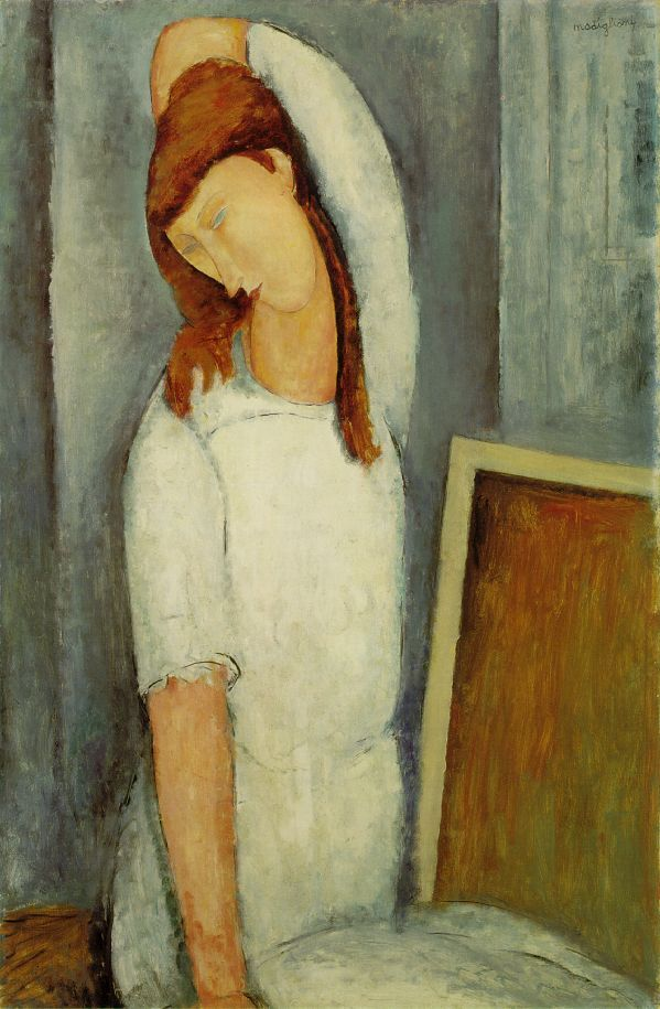 Modigliani: Jeanne Hébutern, Amadeo Modigliani, Amedeomodigliani, Art, Portraits, Jeanne Hebutern, Amedeo Modigliani, Barns Foundation, Left Arm