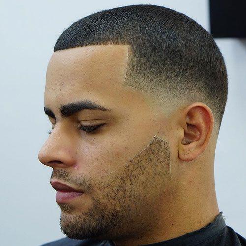 Buzz Cut + Low Bald Fade + Beard
