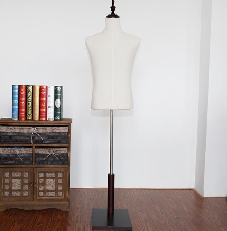 China Male adjustable-mannequin for clothes flexible without trouser rack and shoe shelf, M00312