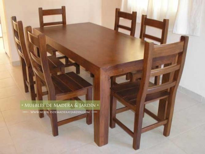 Mesas comedor diario muebles pinterest mesas for Sillas para comedor diario