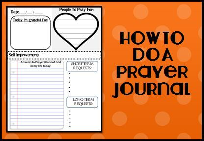 A prayer journal is a unique way to make your prayers more meaningful. This post includes how to do a prayer journal and also a free template and printable.
