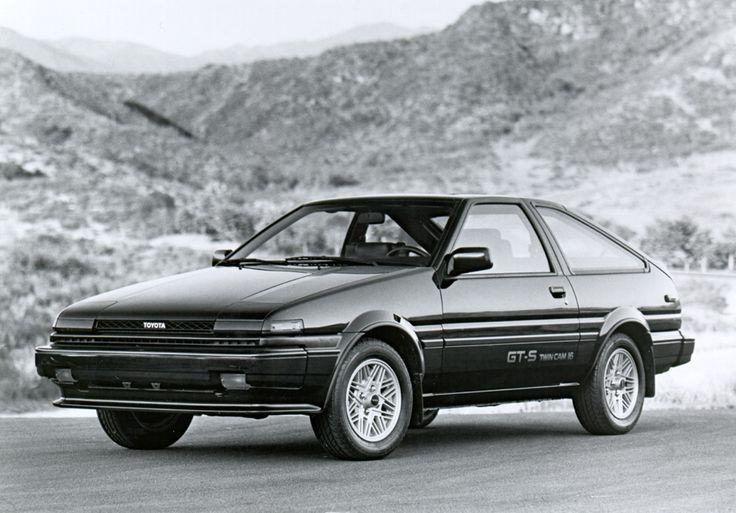 1986 Toyota Corolla GTS Liftback