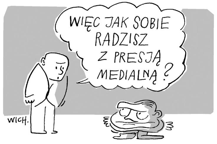 """Rys. Marcin Wicha  """"TP"""" 27/2012"""