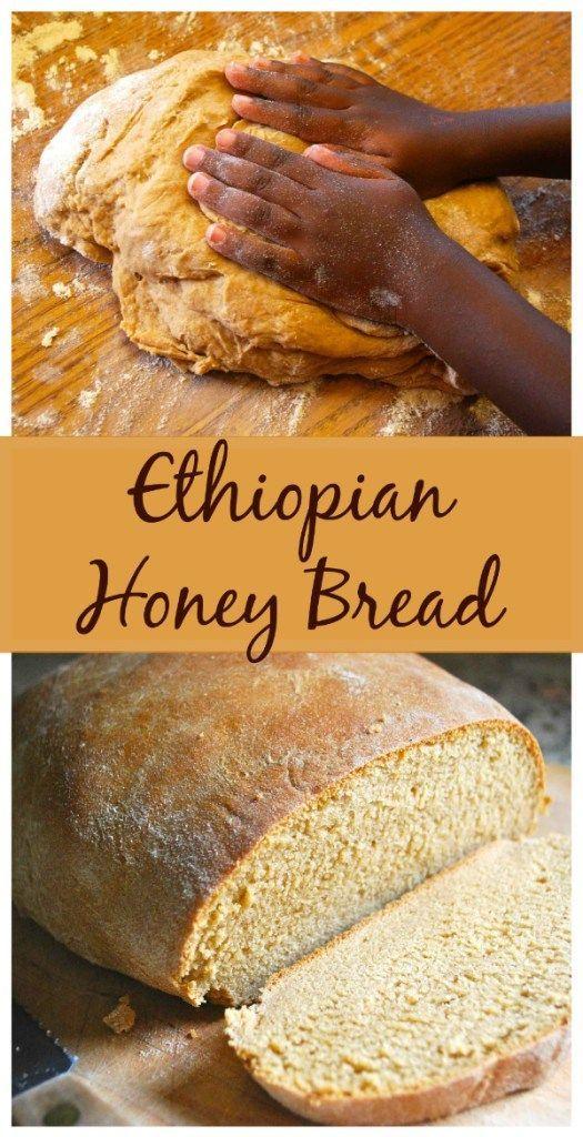 Yemarina Yewotet Dabo: Ethiopian Bread with Honey   Honey ...