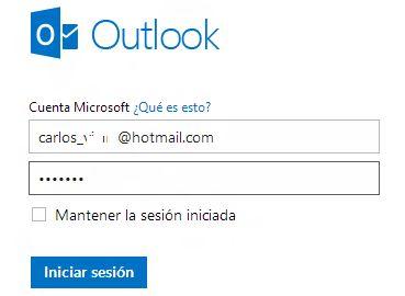 Cómo iniciar sesión en Outlook.com