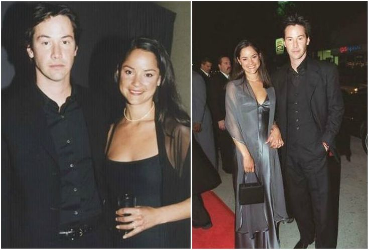 Keanu Reeves with sister Kim Reeves