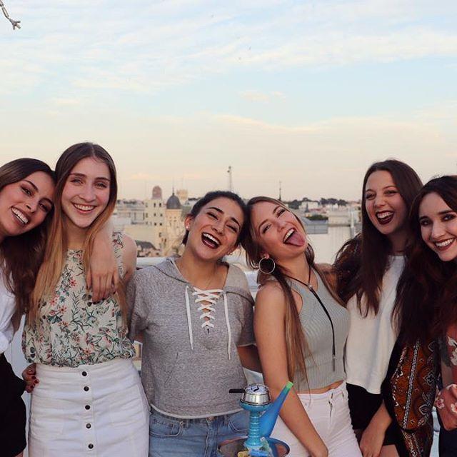 Con las chicas más lindas de toda Colombia! Inmejorable reencuentro @ventinoficial Las adoro ♡ #anamena #style #ventino #madrid #girls #love