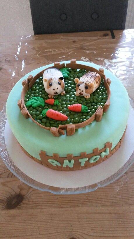 Cavia taart