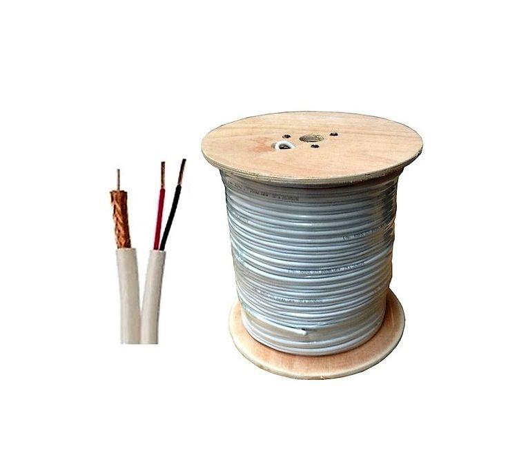 Ini adalah kabel untuk pemasangan CCTV system. Dengan nama kabel coaxial RG59 yang sudah dilengkapi dengan power.