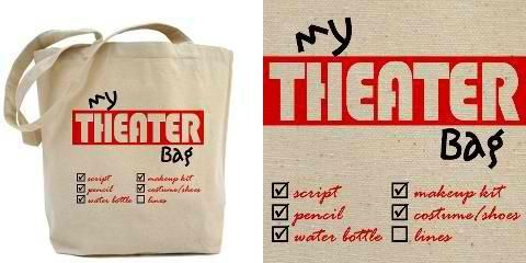 Great bag for a theater geek! From CafePress.