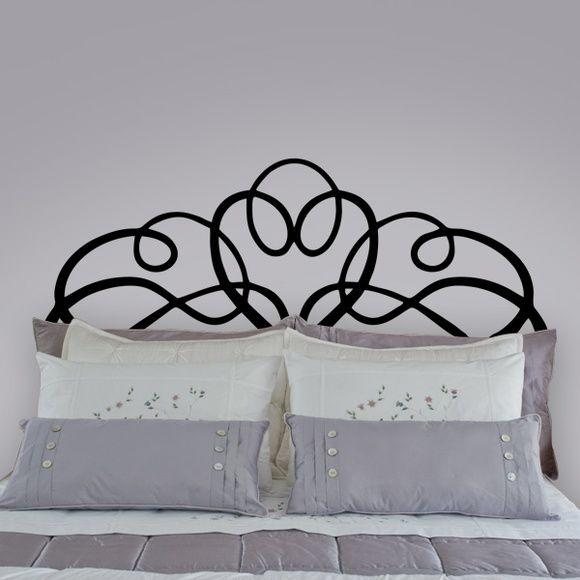 Adesivo Cabeceira de cama 02