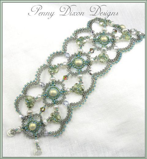 Blog • Penny Dixon Designs: Wedding Cuff...Christmas Cuff...or Anything In Between