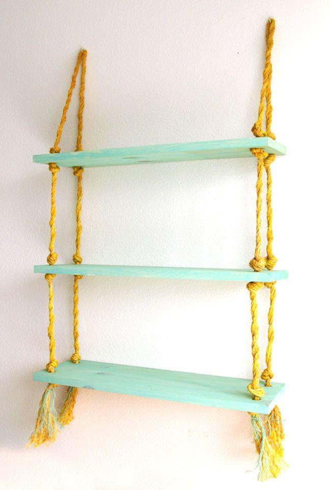 AND HOW TO DYE SISALROPE diy-rope-shelf-apieceofrainbowblog (3)